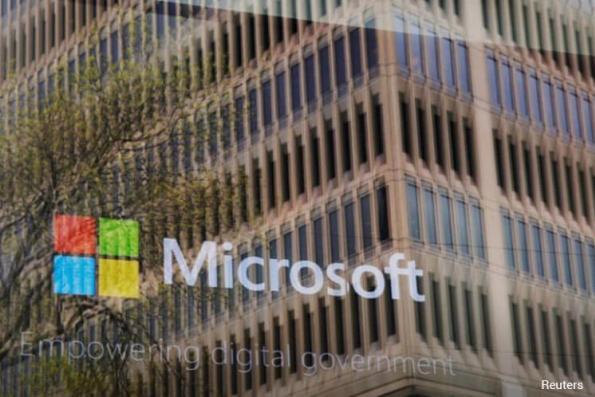 Microsoft sales, profit top estimates as cloud growth marches on