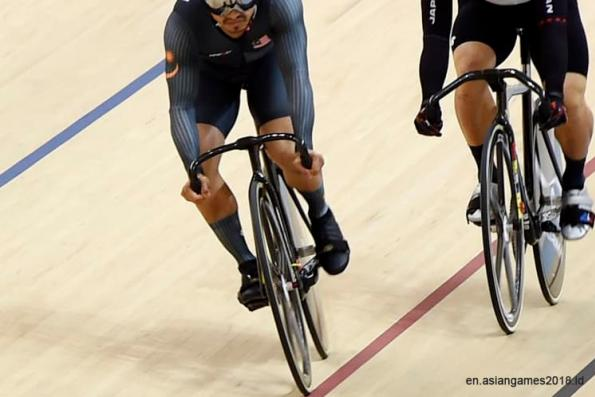 Malaysia continues gold collection via Azizulhasni on 12th day of Asian Games