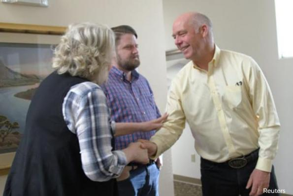 Republican candidate charged with assault, roiling Trump's Montana test
