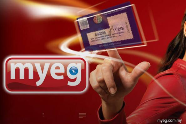 MyEG active, up 2.8% on renewal of courier licence