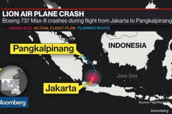 Boeing's first Max crash leaves Indonesia scouring sea for clues