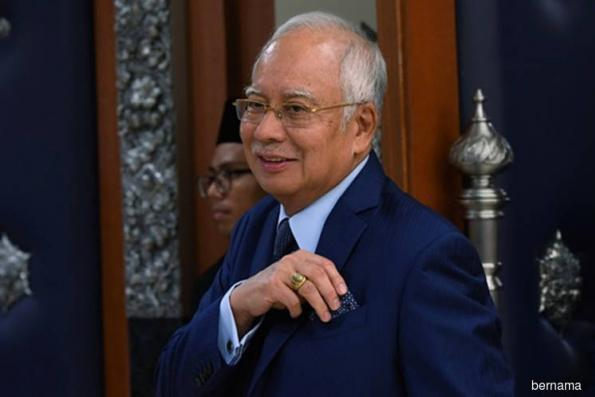 Najib faces 25 charges under MACC, Anti-Money Laundering and Anti-Terrorism Financing Acts