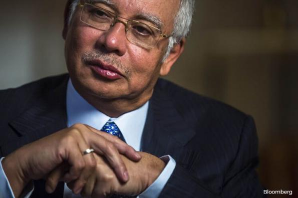 'Najib broke down'
