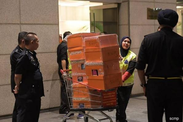 警方搜获1.14亿令吉 与1MDB有关