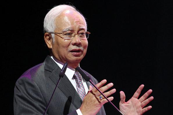 NajibRazak.com gets a facelift