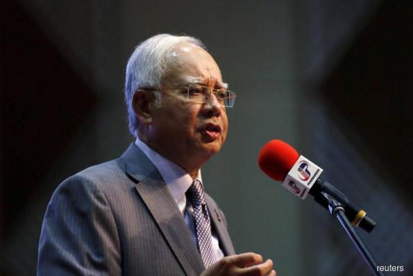 Najib visits MACC over alleged tampering of 1MDB audit report