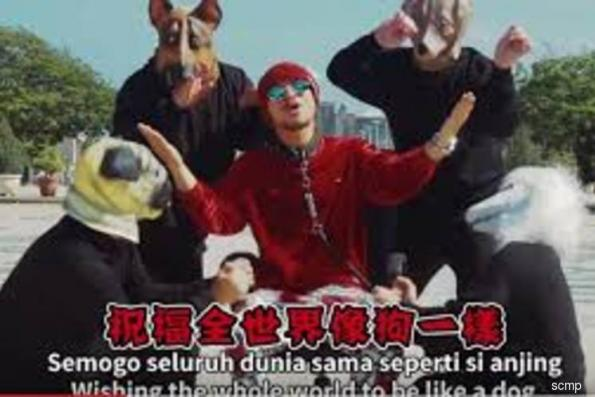 Malaysian rapper Namewee in the dog house over 'obscene' Lunar New Year video
