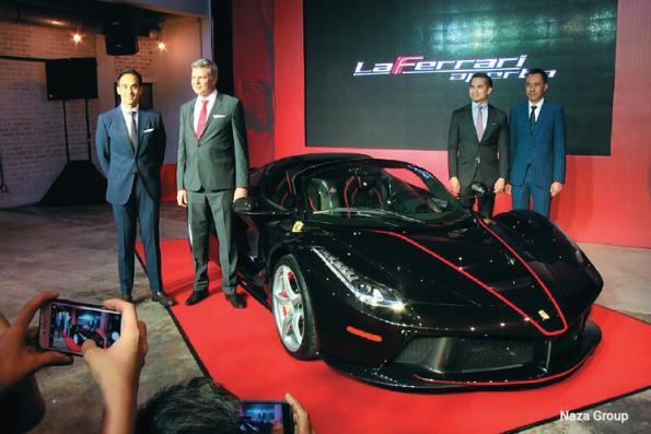 Naza Italia kicks off Ferrari's 70th anniversary celebrations in Malaysia