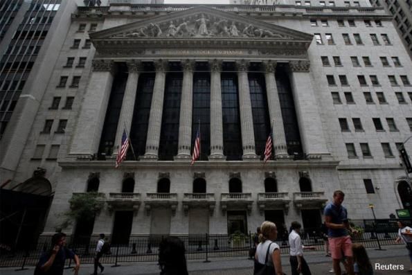 Wall St ends up but off highs after Trump announcement, Fed minutes