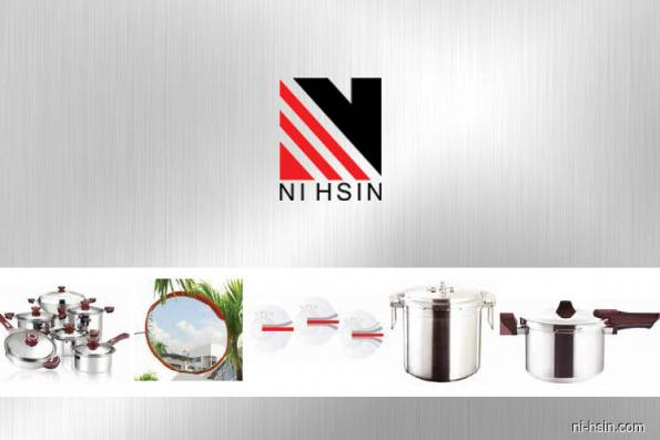Ni Hsin up 4.25% on positive technicals