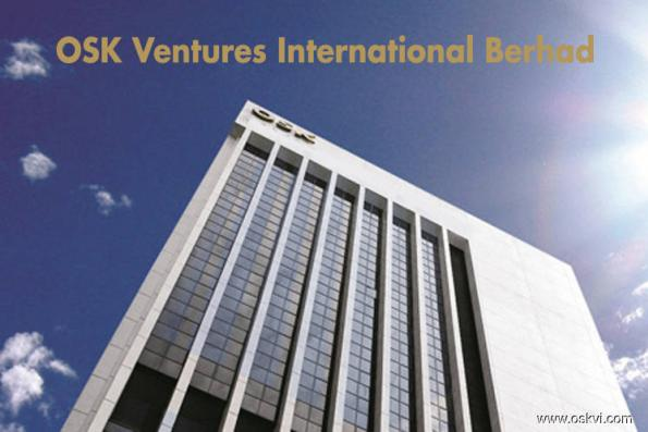 OSK Ventures slumps 16.8% on 3Q net loss