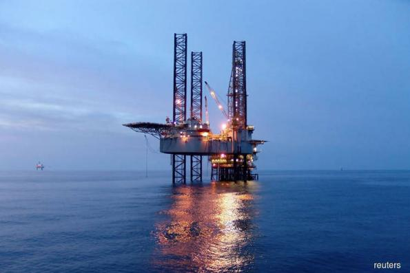 O&G counters active, energy index down 1.74pts