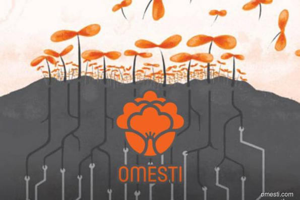 Omesti falls 4.31% on private placement plan