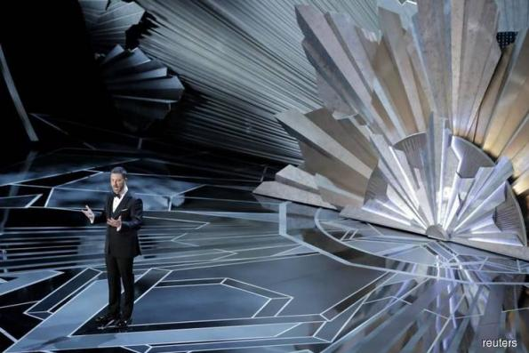 Oscars confronts Hollywood sexual scandal on red carpet