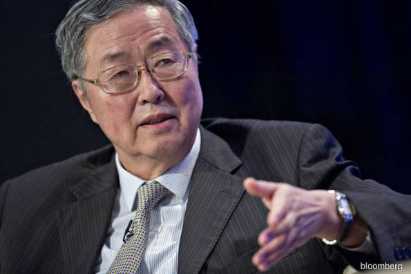 China's central bank chief warns corporate debt is too high