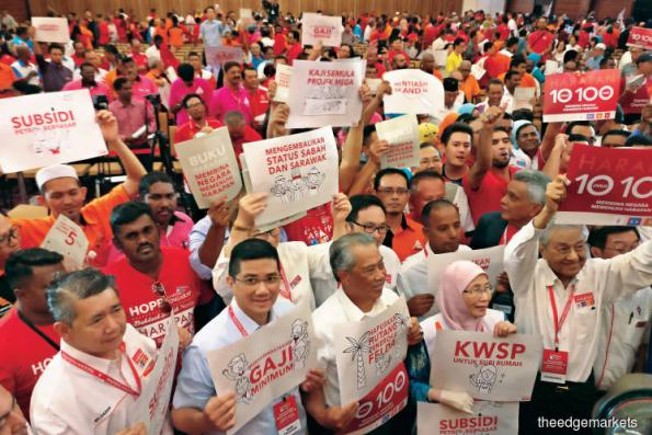 Run-Up to GE4: Pakatan manifesto promises better standard of living and clean government