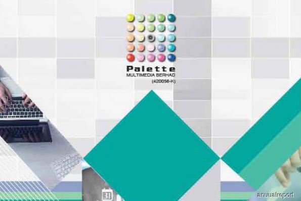 Palette Multimedia down 8.2% on weaker sentiment