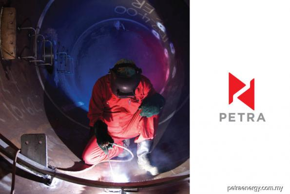 Petra Energy rises 8.45% on getting contract extension from Petronas Carigali