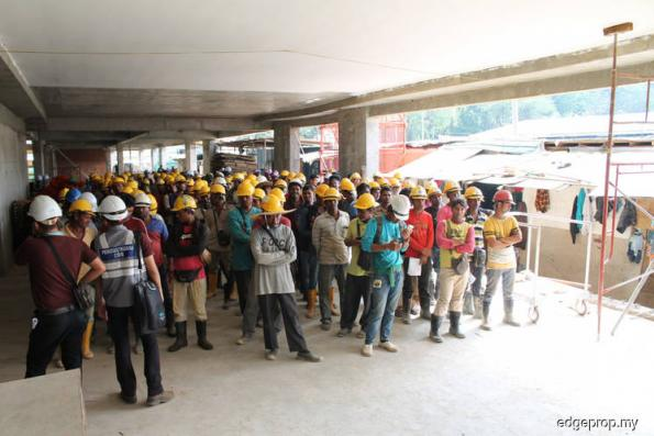 CIDB issues stop-work notices to KL project site after 106 workers found without green card, other violations