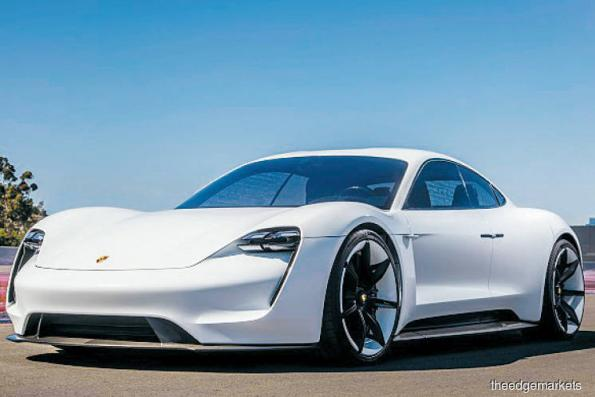 Porsche's new electric car offers a faster charge than Tesla
