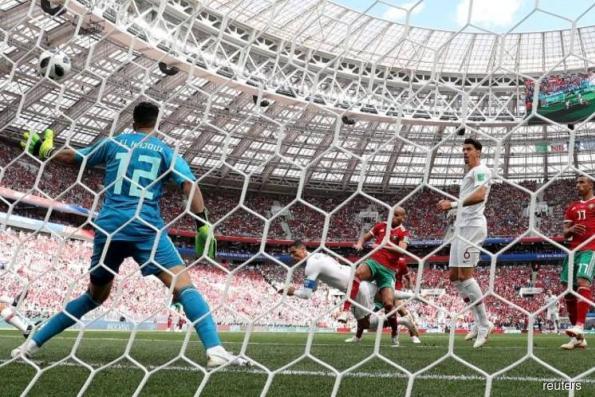 Ronaldo earns edgy Portugal 1-0 win as Morocco's hopes end