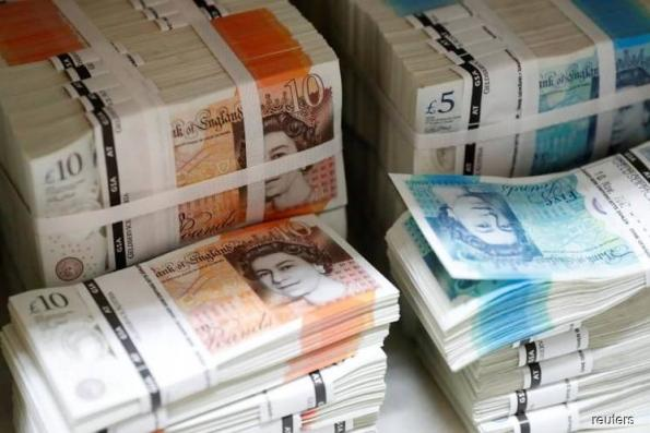Pound frail on Brexit fears, dollar steady