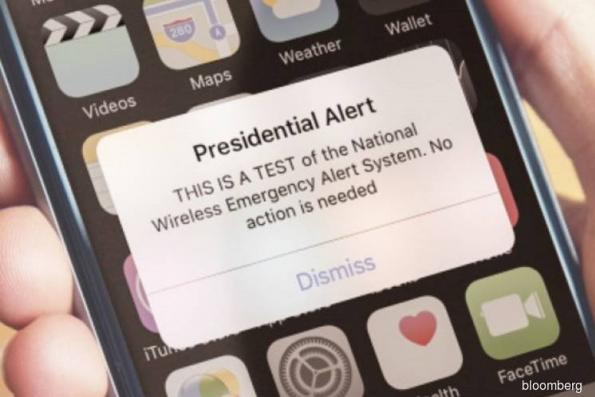 Judge denies request to block presidential cell phone alert
