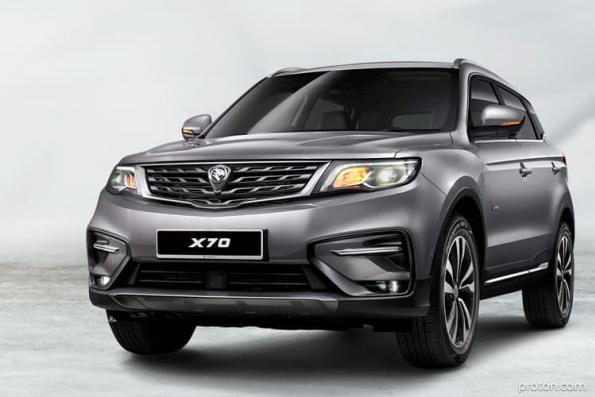 Proton X70 likely to enter Thai, Indonesian markets