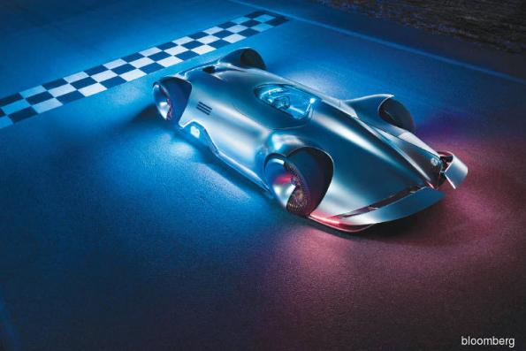 Cars: Mercedes' new concept car goes back to the future