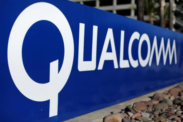 Qualcomm shares fall as report says Apple will dump chips