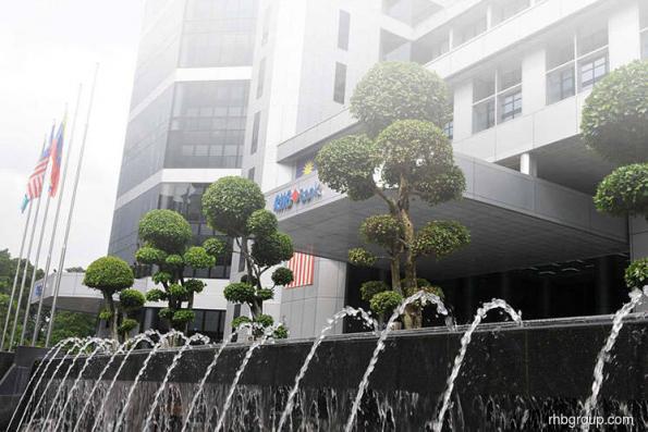 UOB Kay Hian upgrades RHB Bank to hold; target RM4.90