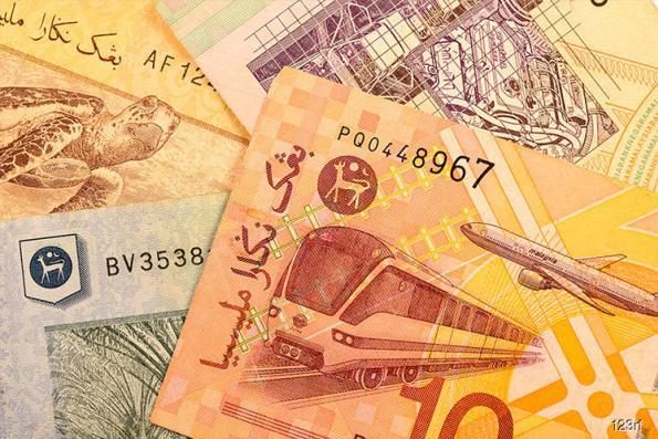 Ringgit weaker against US dollar