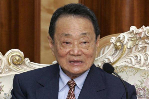 郭鹤年出席资政理事会会议
