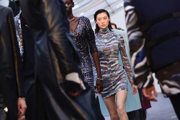 Fashion: British designers present Ferragamo, Cavalli shows