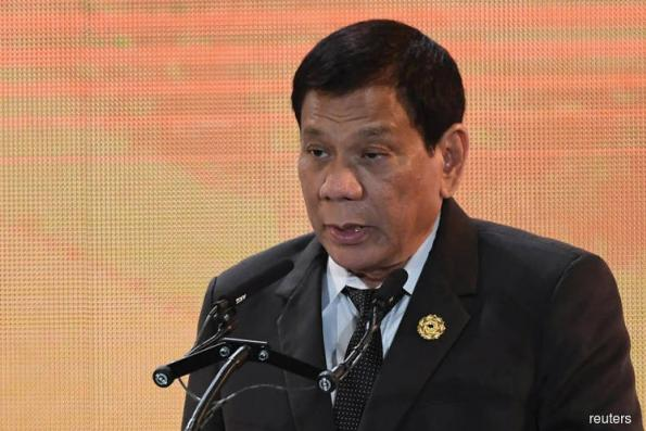 Philippines' Duterte offers telecoms role to new ally China