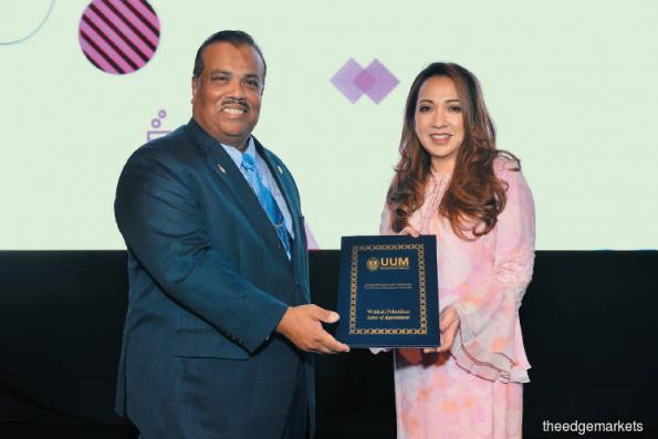 Astro CEO appointed adjunct professor of UUM
