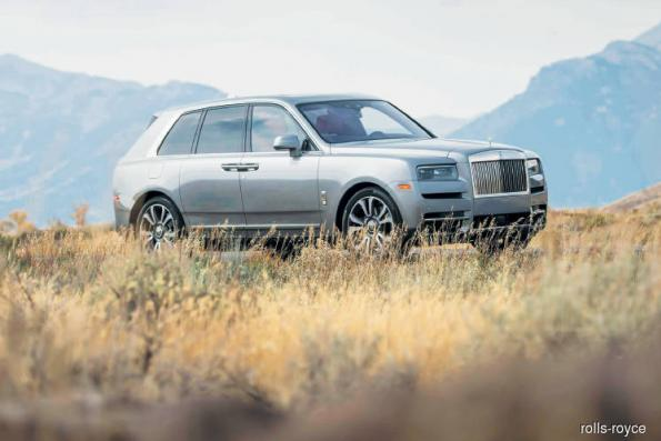 Cars: That US$325,000 Rolls-Royce Cullinan SUV should be taken off-road