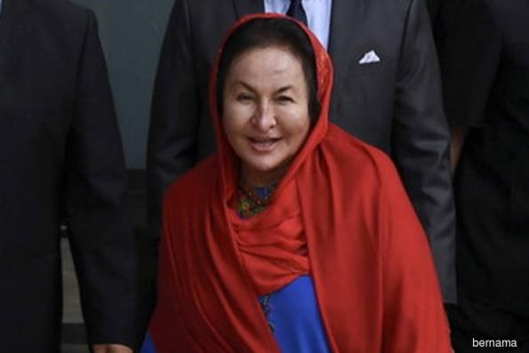 Rosmah at MACC office for third time