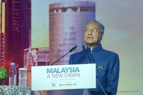 Dr Mahathir: New taxes, asset sales to pare government debt