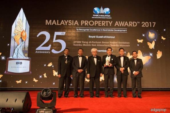 S P Setia bags two awards at Malaysia Property Award 2017