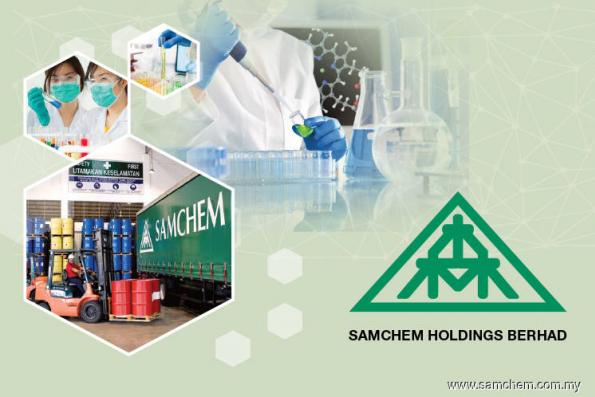 Samchem 3Q net profit almost doubled on higher sales