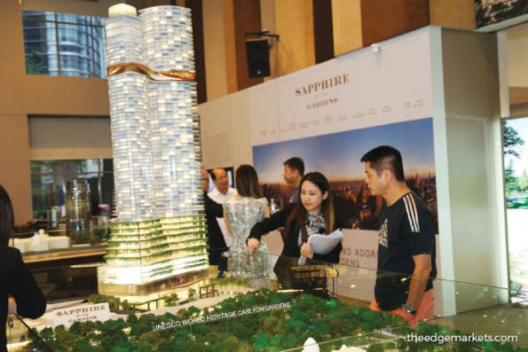 S P Setia's Sapphire By The Gardens exceeds 70% take-up