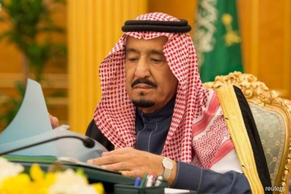 Saudi King Salman says determined to confront corruption