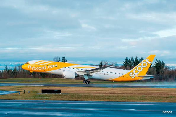 Tigerair to fly under Scoot banner from July