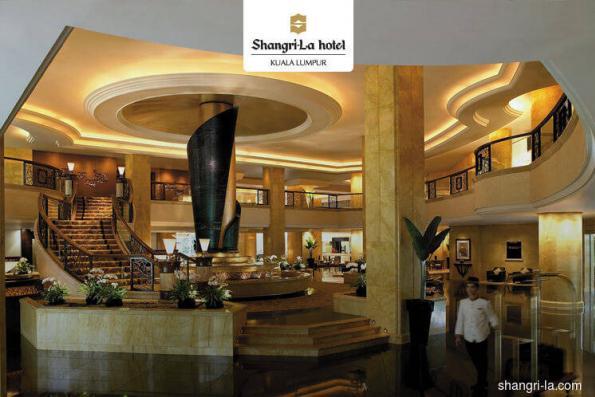 Shangri-La 1Q net profit up 31.7% on better occupancies and room rates