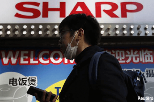 Foxconn, Sharp 'on the right track' in deal talks