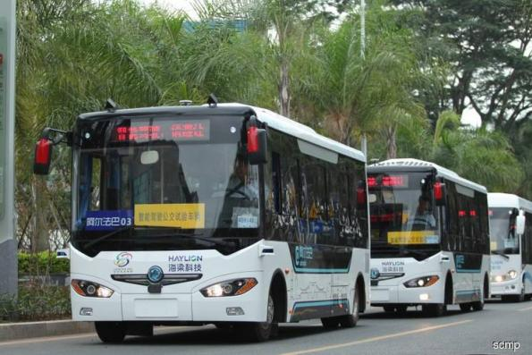 Mini driverless city gives Singapore edge in race to robot buses