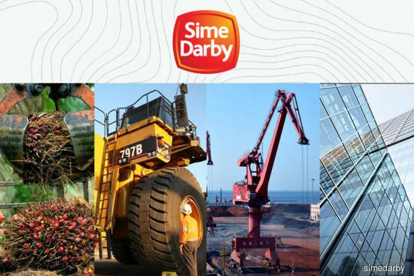Sime Darby-linked counters on upward trend