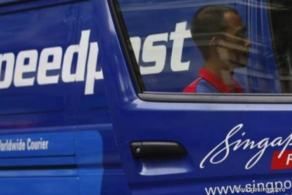 SingPost's 2Q earnings fall 9.5% to S$28.5 mil on absence of one-off gain