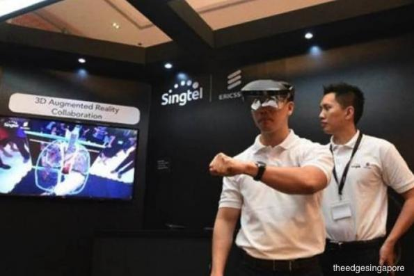 Singtel and Ericsson launching Singapore's first 5G pilot network
